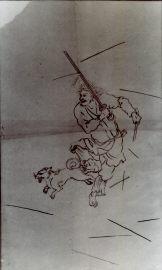 捕鳥部万図(画稿)