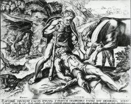ディオメーデスの牝馬(下絵)