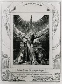 ヨブ記 「わたしのしもべヨブはあなたがたのために祈るであろう
