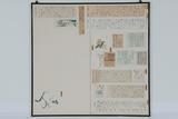 《昭和2年1月14日付新聞記事「三間四方の紙に両画伯の大作」》