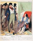 オノレ・ドーミエ《ロベール・マケール物語「友情の利用」》
