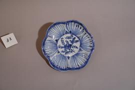 青花梅文鉢