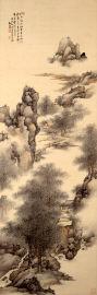 初夏山水図
