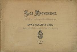 諺(妄) (Los Proverbios) 表紙