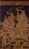作者不詳《二十五菩薩来迎図(右幅)》