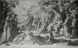 ヘンドリック・ホルツィウス《ミダスの審判》