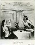 オノレ・ドーミエ《アナクレオンの死(古代史)》