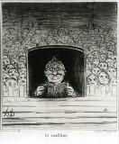 オノレ・ドーミエ《プロンプター(時事問題)》