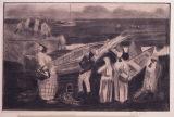 ジョージ・オーウ゛ァーベリー・ハート《原住民とボート》