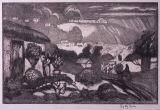 ジョージ・オーウ゛ァーベリー・ハート《サンタ・ドミンゴ風景》