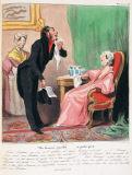 オノレ・ドーミエ《ロベール・マケール物語「情にもろい男・・・適正な値段で」》