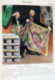 オノレ・ドーミエ《ロベール・マケール物語「慈善的な新柄物」》